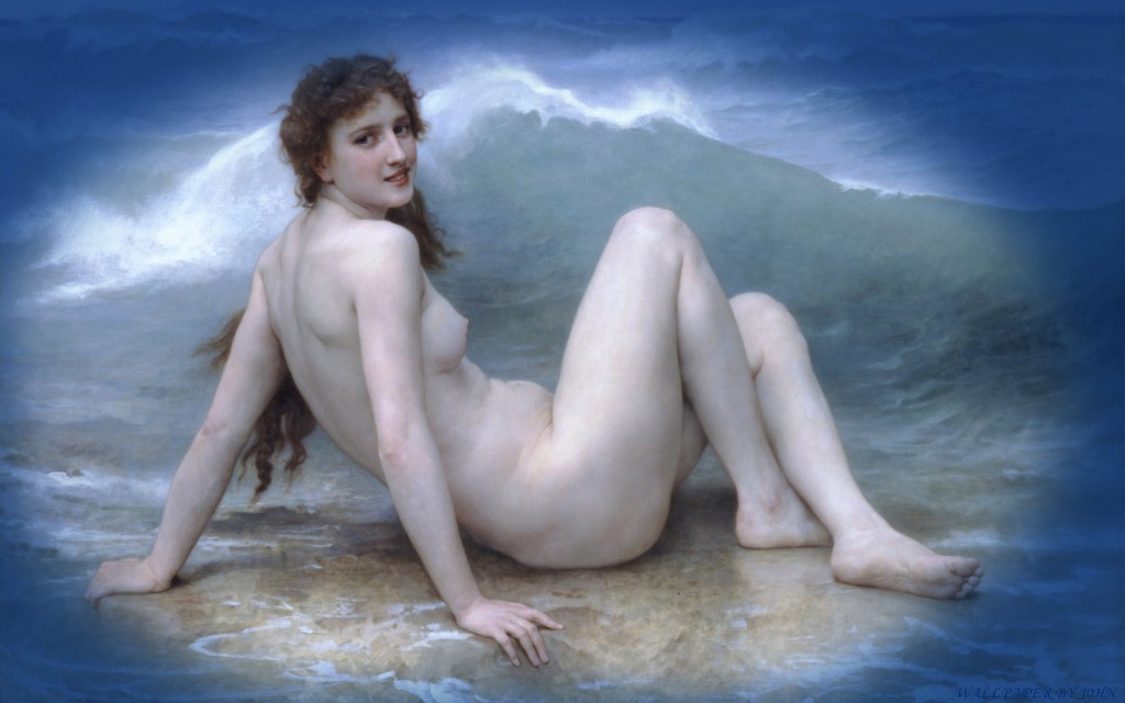 Bouguereau William Adolphe The Wave